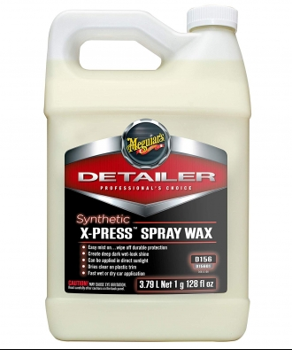 Meguiar's D15601 Synthetic X-Press Spray Wax - 1 Gallon - Wax nhanh